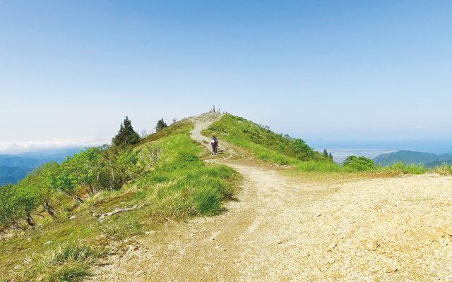 琵琶湖展望の道 武奈ヶ岳